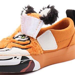 KÜÇÜK ÇOCUK VANS X PROJECT CAT WILD TIGER SLIP-ON VELCRO AYAKKABI (1-4 YAŞ)
